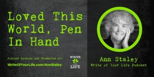Ann Staley, Writer and Poet