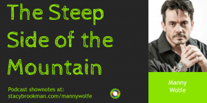 Manny Wolfe - Steep Side of the Mountain