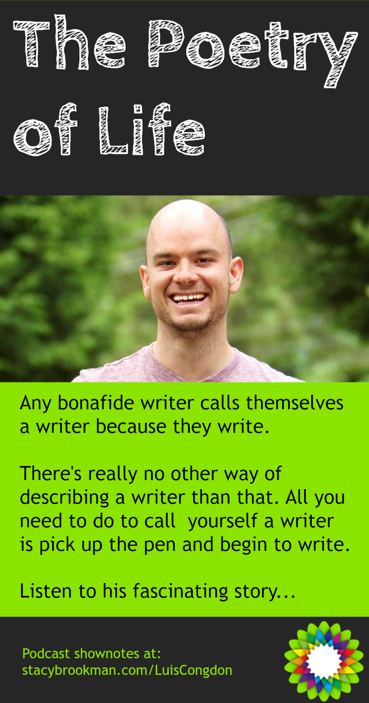 Any bonafide writer calls themselves a writer because they write. There's really no other way of describing a writer than that. All you need to do to call yourself a writer is pick up the pen and begin to write.