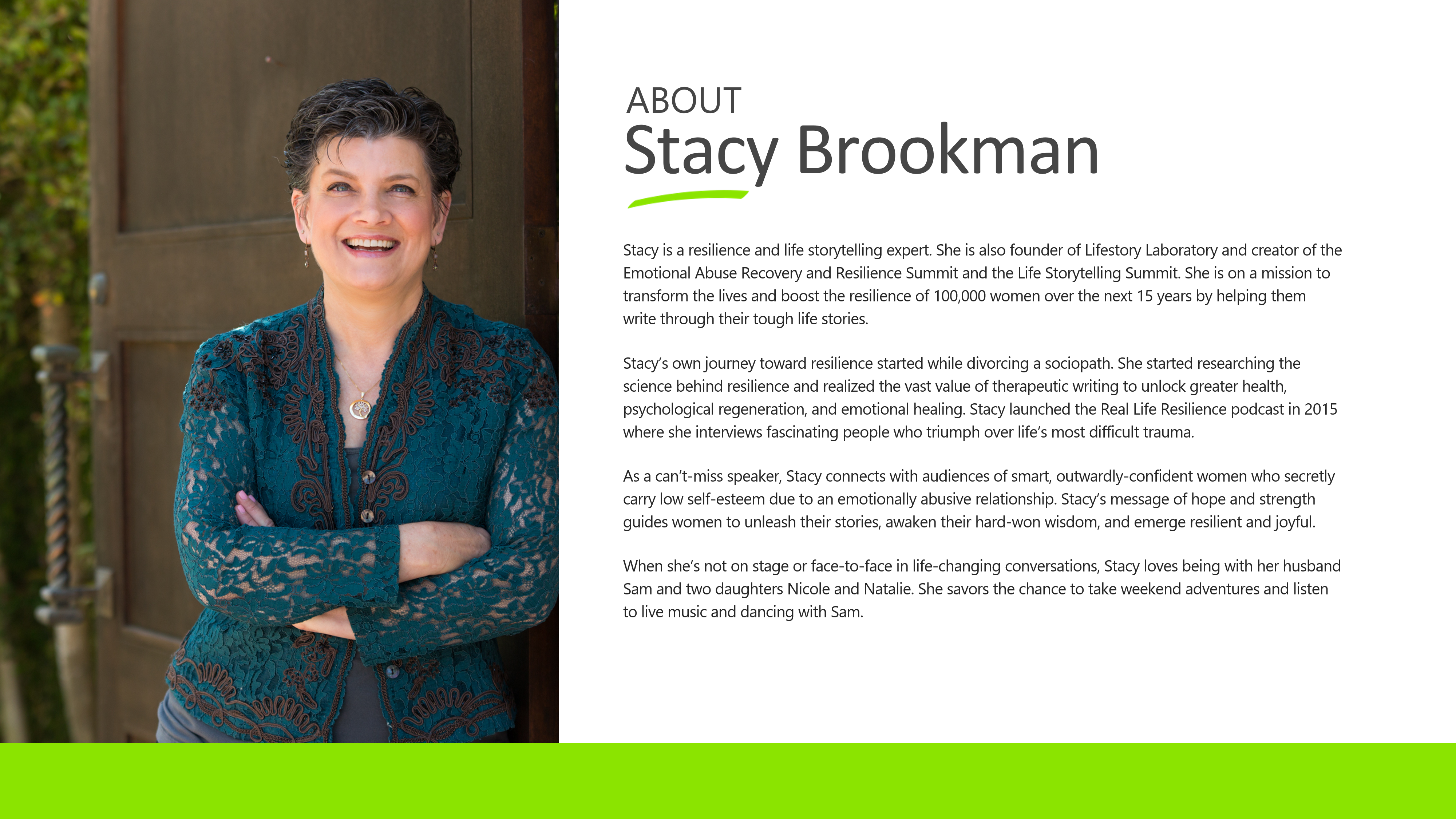 About Stacy Brookman