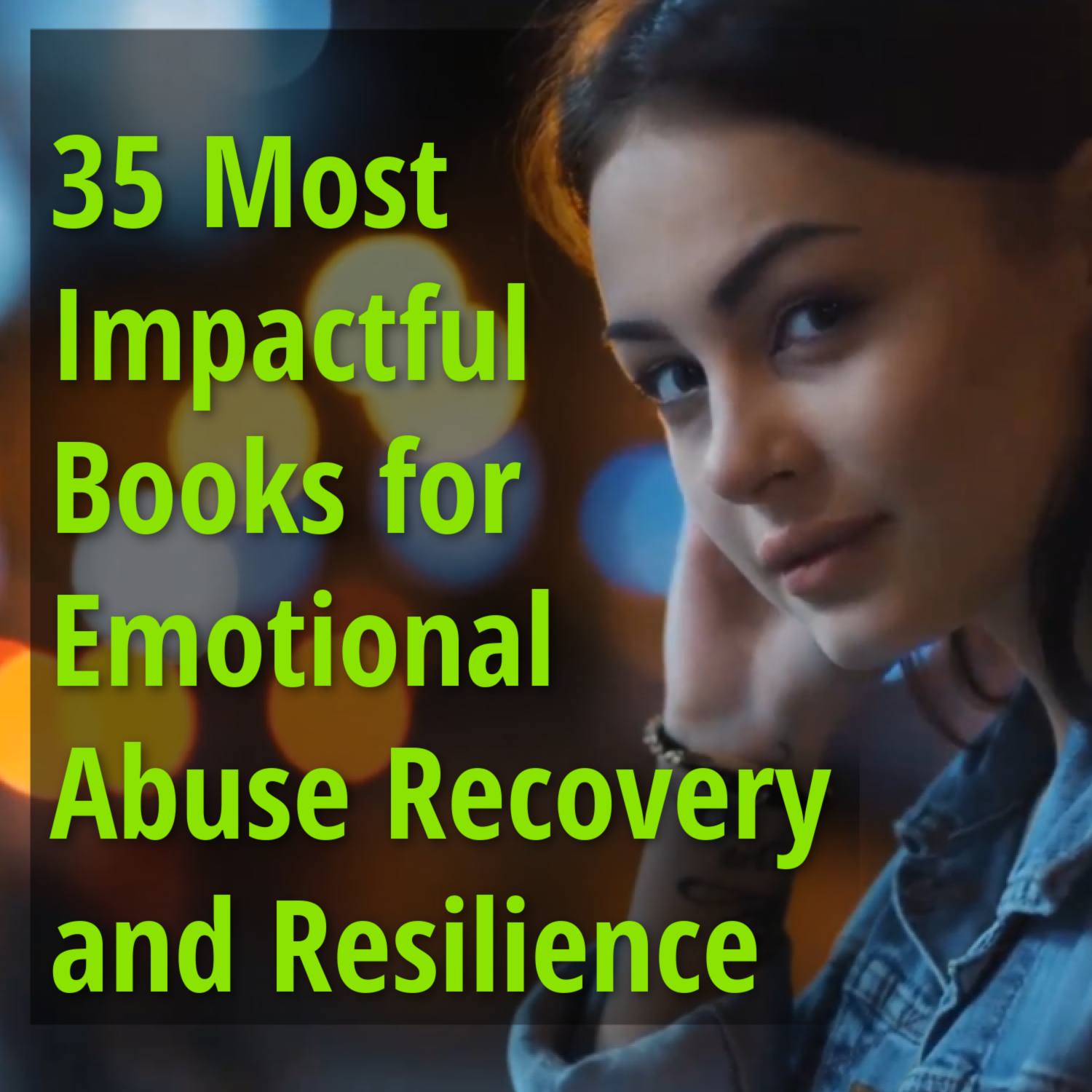 35 emotional abuse books