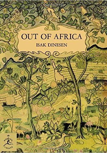 Dinesen -- out of Africa