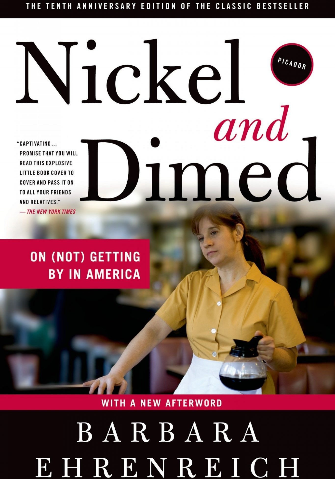 a discussion of the issue of poverty in the book nickel and dimed Nickel and dimed: on (not) getting by in america barbara ehrenreich, 2001 henry holt & company 240 pp isbn-13: 9780805088380 summary millions of americans work for poverty-level wages, and one day barbara ehrenreich decided to join them she was inspired in part by the rhetoric surrounding welfare reform, which promised that any job.